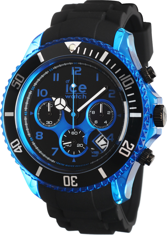 ice watch 000678 ice sporty uhr ice chrono electrik. Black Bedroom Furniture Sets. Home Design Ideas