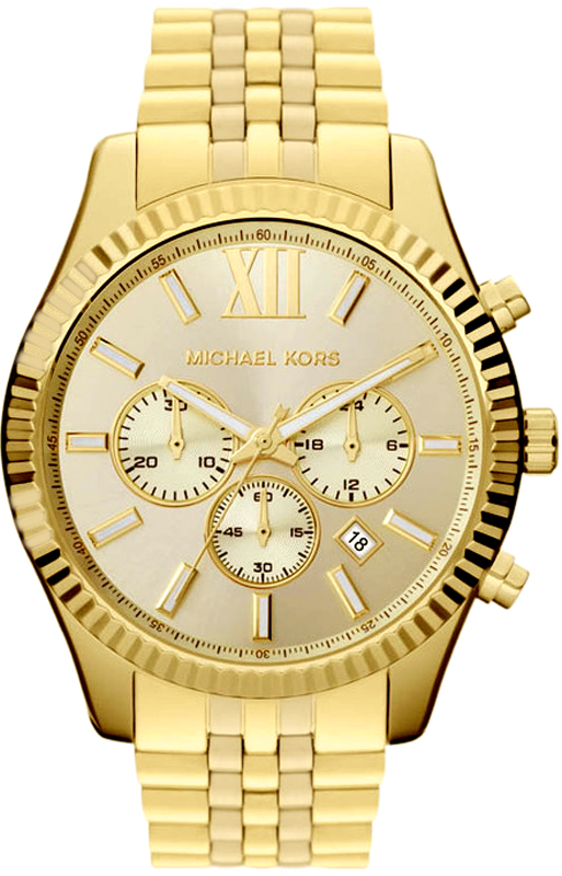 michael kors mens chrono 39 s lexington big mk8281 michael. Black Bedroom Furniture Sets. Home Design Ideas