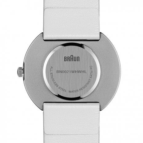 White & Silver Ladies Design Watch Herbst / Winter Kollektion Braun
