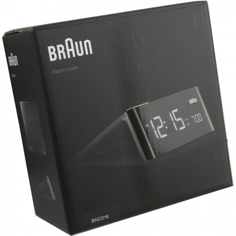 Stylish Alarm Clock With Modern Design Herbst / Winter Kollektion Braun