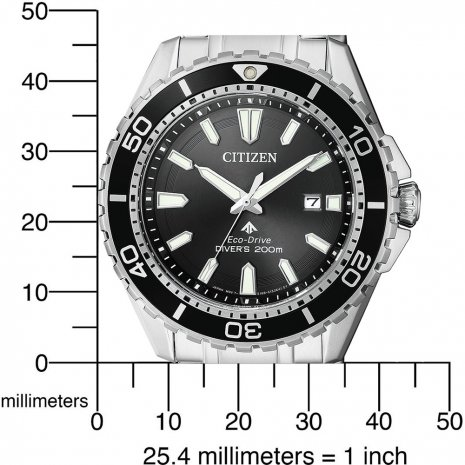 20 ATM Steel Eco-Drive Diver Watch Herbst / Winter Kollektion Citizen