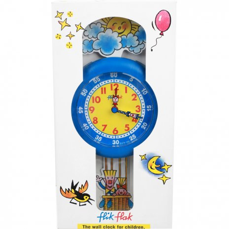 Flik Flak Balloon Clock Uhr