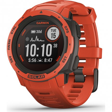 Garmin Instinct Solar Flame red Uhr