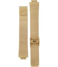 Women Milanese Gold Classic 16mm 2577 Sport Plattiertes Stahlarmband Ac3j45RLq