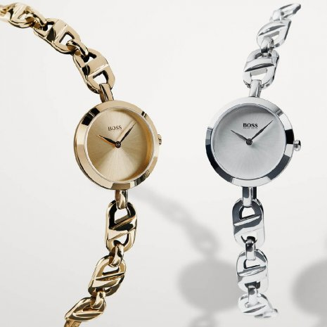 Ladies quartz watch wth chain-link bracelet Frühjahr / Sommer Kollektion Hugo Boss