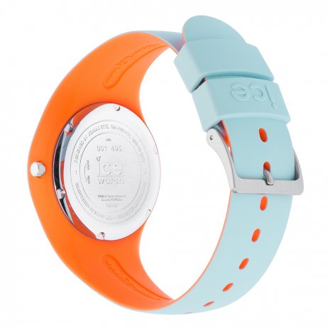 Blue & Orange Silicone Watch Size Medium Frühjahr / Sommer Kollektion Ice-Watch