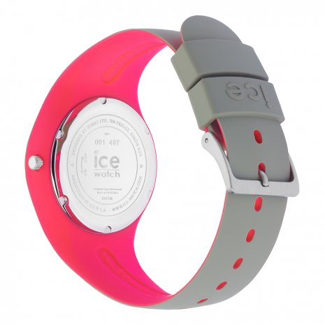 Khaki & Pink Silicone Watch Size Medium Frühjahr / Sommer Kollektion Ice-Watch
