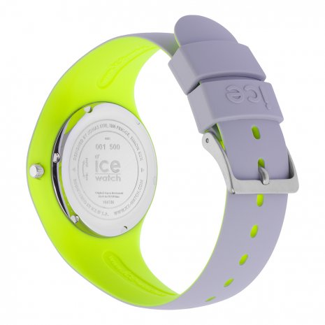 Light Grey & Yellow Silicone Watch Size Medium Frühjahr / Sommer Kollektion Ice-Watch