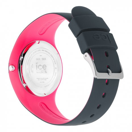 Anthracite & Pink Silicone Watch Size Medium Frühjahr / Sommer Kollektion Ice-Watch