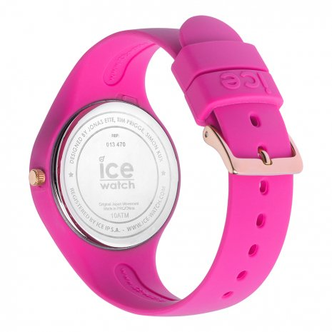 Pink & rose gold silicone watch Size Small Frühjahr / Sommer Kollektion Ice-Watch