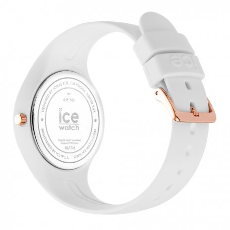 Rose Gold & White Silicone Watch Size Small Frühjahr / Sommer Kollektion Ice-Watch
