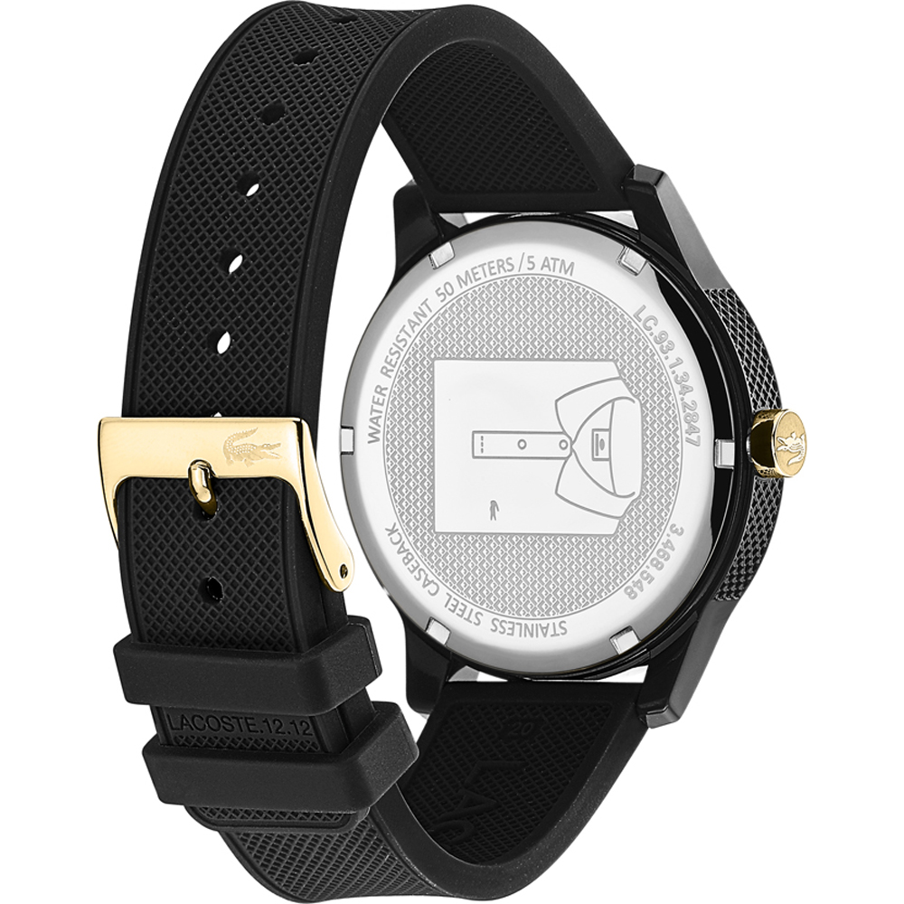 12 Uhr 12 In Ean7613272318020 Time Masters • Lacoste 2011010 CWdeorxB