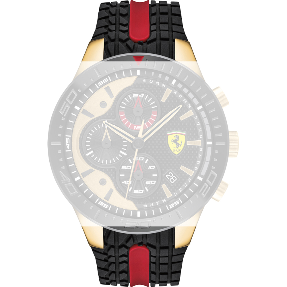 Scuderia Ferrari Armbänder 689300448 Redrev Offizieller Händler Masters In Time