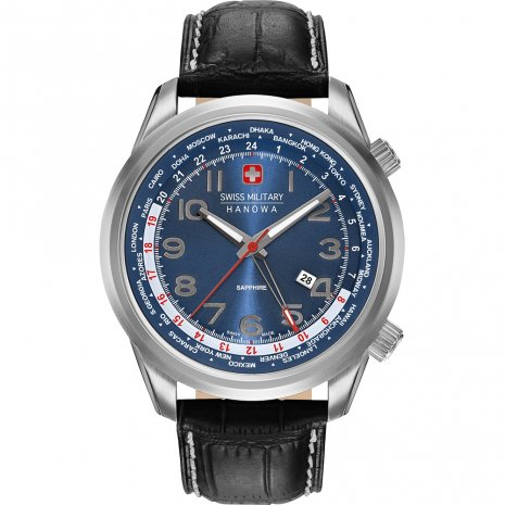 Swiss Military Hanowa Worldtimer Uhr