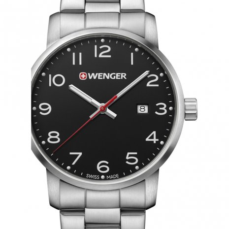 Swiss Made Quartz Watch with Date Frühjahr / Sommer Kollektion Wenger